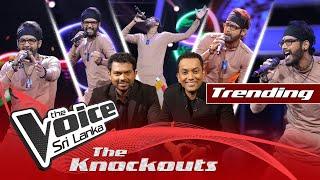 A R Jithendra | Mash Up - Manda Pama |  Mukkala | The Knockouts | The Voice Sri Lanka