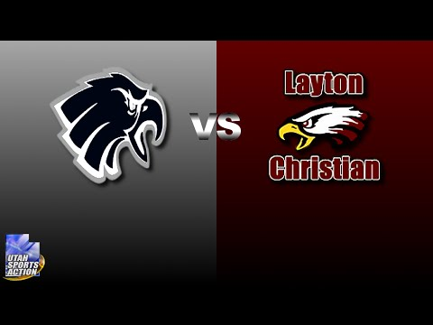 High school football: Duchesne Eagles vs Layton Christian Academy Eagles highlights.