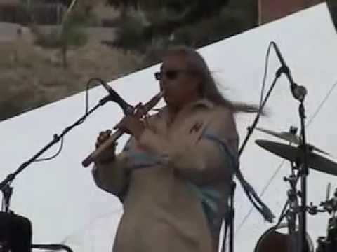 Troy De Roche performing at the 2015 Montana Folk Festival