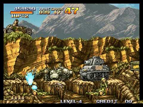 Metal Slug - Super Vehicle-001 - Metal Slug - Mission 4 Perfect Run - User video