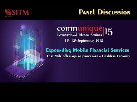 """Communiqué15 - Panel Discussion: """"Expounding Mobile Financial Services'"""