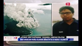 Erupsi dan Gempa Vulkanik Anak Krakatau, Warga Dilarang Mendekat 5 Km - iNews Sore 20/02