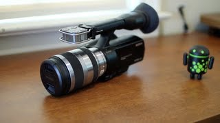 Sony NEX-VG20 Review!