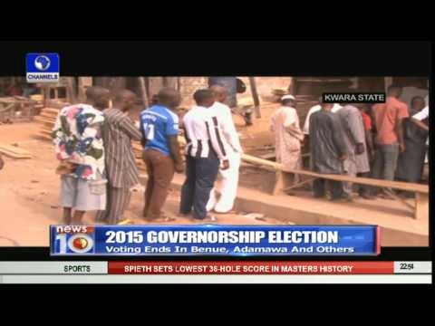 News@10: Collation Begins In INEC Lagos Office Pt.4 11/04/15