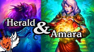 Quest Amara and Herald Volazj 🍀🎲 ~ Journey to Un'Goro ~ Hearthstone Heroes of Warcraft