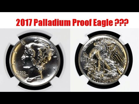 2017 1 oz Palladium Proof Coin Out Already ???