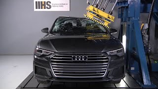 2019 Audi A6 roof strength test
