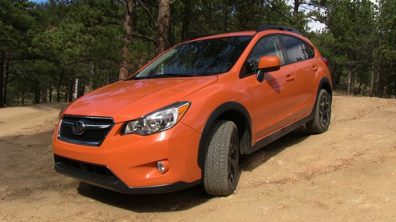 2013 Subaru XV CrossTrek Off-Road Drive & Review - YouTube