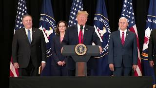 President Trump Participates in the Swearing-In Ceremony of the Director of the CIA