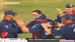 ANDERSON's BEST 4 WICKETS VS PAKISTAN  - 2003 WC