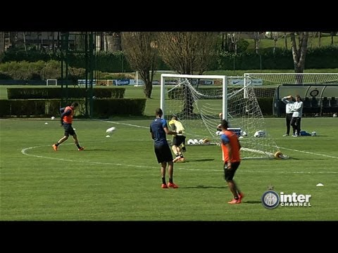ALLENAMENTO INTER REAL AUDIO 28 03 2014