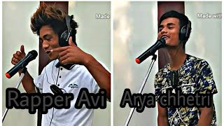 NEPALI masup song Arya chhetri with Rapper Avi