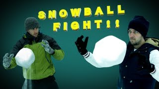 Super Powered Snowball Fight!