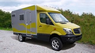 Bimobil expedition vehicle  Based On  Mercedes Sprinter