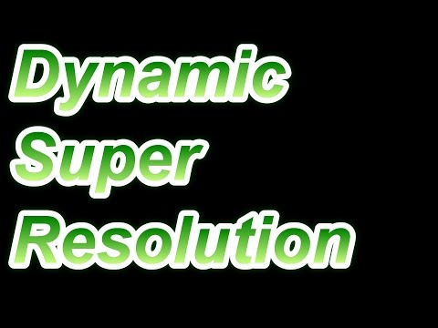 Dynamic Super Resolution Review Guide
