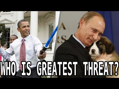 Obama Vs. Putin? POLL: Who Is A Greater Threat To America?