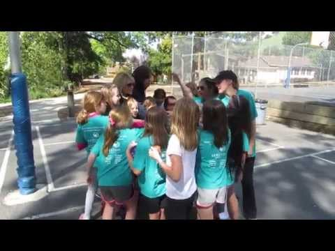 Girls on the Run is So Much Fun at Hillbrook School! - 04/02/2014