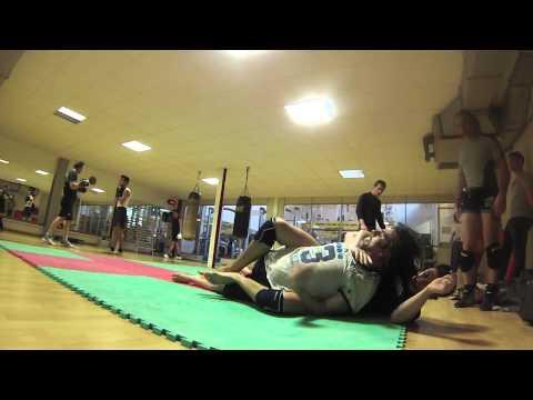 Grappling training asd i bravi