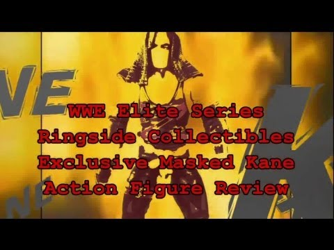 WWE Elite Series Kane RingsideCollectibles.com Exclusive Action Figure Review