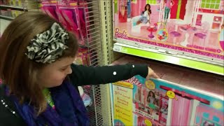 "Pick Any Barbie At Toys R Us, Victoria ""Toy Freaks"" Shopping Haul Dream House"