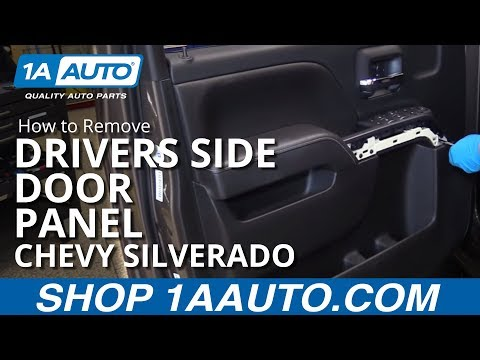 How to Remove and Reinstall Drivers Side Door Panel 2015 Chevy Silverado LT
