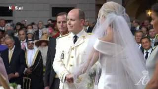 شهبانو فرح پهلوی در  ازدواج سلطنتی  موناکو -- دقیقه ۱:۲۰