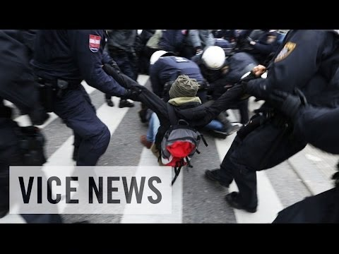 Europe's Anti-Fascists Clash with Police in Vienna