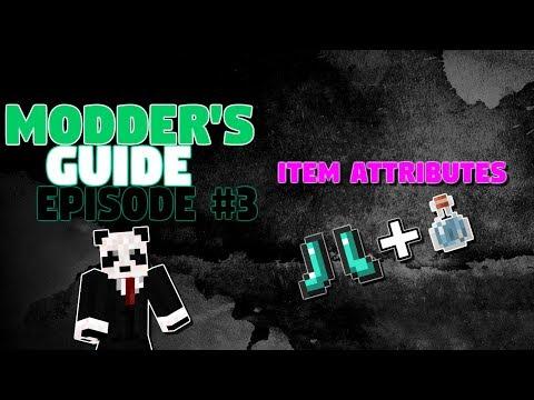 Minecraft - Modder's Guide #3 - Item Attributes!