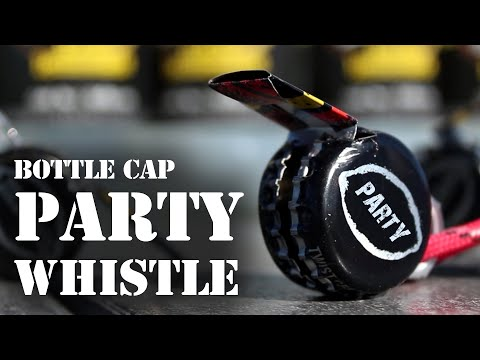 How to Make a Bottle-Cap Party Whistle!