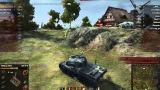 World Of Tanks Дерзкий Француз 1 против 7 AMX 50 B