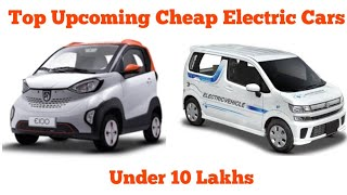 TOP 5 Cheapest upcoming Electric cars in India || Resab creations