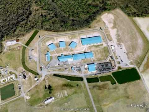 Deerfield Prison - Capron, VA - Google Earth