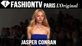 Jasper Conran Spring/Summer 2015   London Fashion Week LFW   FashionTV