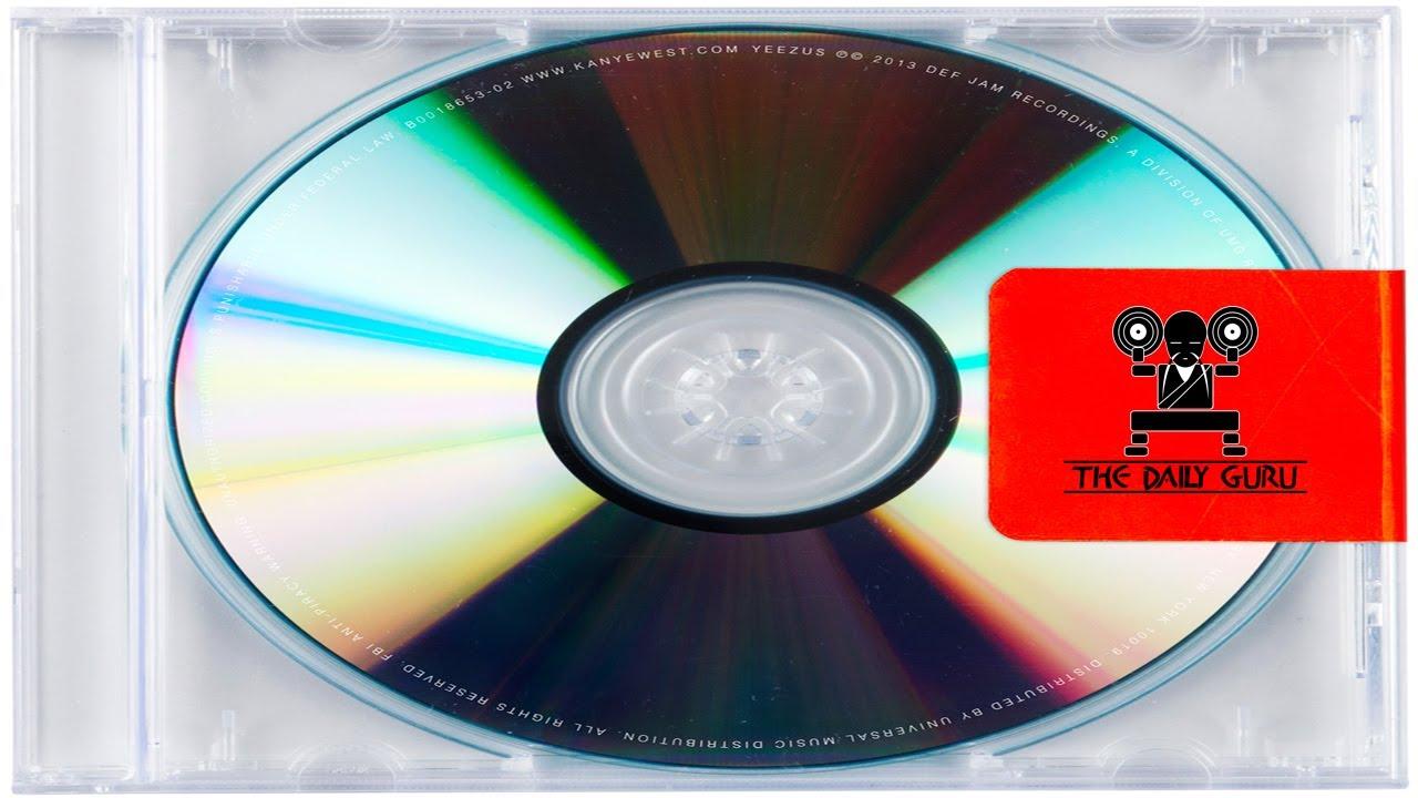 Yeezus Real Album Cover Kanye West    Yeezus   Album