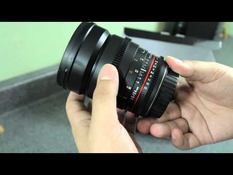 Rokinon 24mm T1.5 Cine Lens: Unboxing/Review/Samples