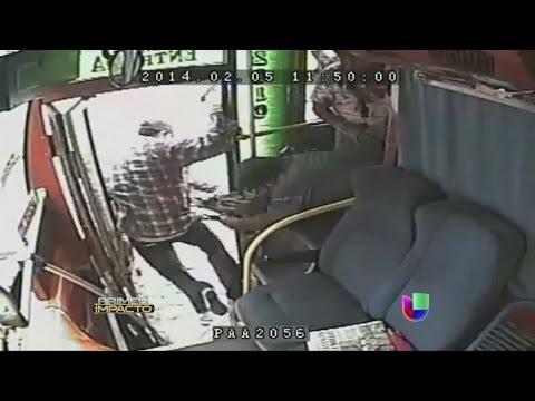 Robo sangriento en un autobús les costó la vida a dos hombres