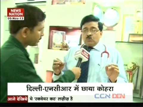 SMOG-DIWALI, Dr Ravi Malik CMD Malik Radix Healthcare, Nirman Vihar, Delhi