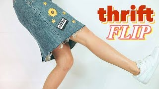 thrift flip // make your clothes cute!