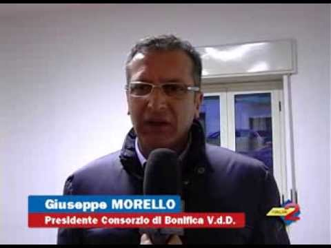 Rischio Esondazione Tanagro: int. a Giuseppe Morello, Pres. Consorzio di Bonifica Vallo di Diano