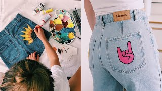 DIY-ing my clothes to make them cuter!! (pinterest diys)