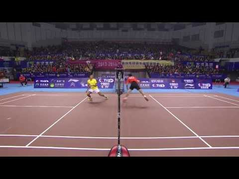 [hd] 2013.12.26 - Ms - Tian Houwei Vs Lin Dan - China Badminton Super League video
