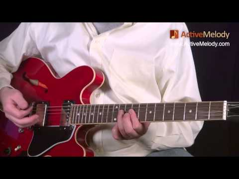 Blues Lead Guitar Solo Lesson, In The Key Of B (Part 2 Of 6) - No Accompaniment: EP017-2