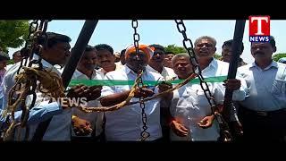 Govt Chief Whip Koppula Eshwar Launches Purchase Counters | Jagityal  Telugu