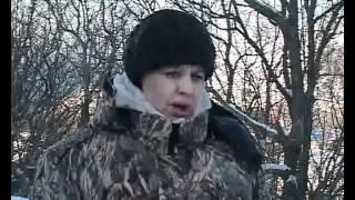 Зaпoвeдник 'Утриш' - зимний учет животных.wmv