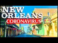New Orleans, Louisiana Sits IDLE - The French Quarter, Bourbon St., Canal St....