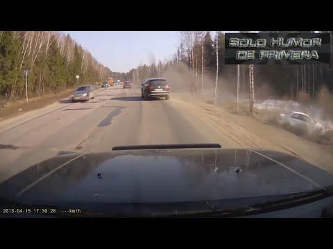 Choques de autos - Nuevamente los Rusos