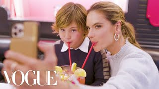 Alessandra Ambrosio & Her Son Explore New York City | 24 Hours With | Vogue