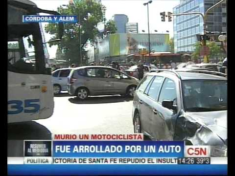 C5N - TRANSITO: ACCIDENTE EN CORDOBA Y ALEM
