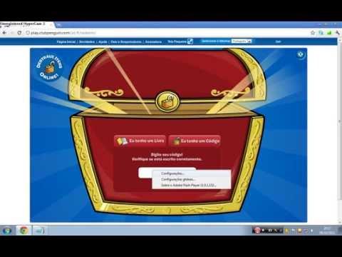 Club Penguin - 5 Códigos para destravar itens + 55 códigos bônus!!!!!!!!