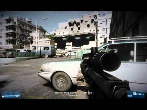 BATTLEFIELD: 3 PC Gameplay (HD 5850 Xtreme 1GB & Phenom II 965 @4GHz) [HIGH SETTINGS] 1440x900
